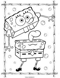 spongebob 34 coloringcolor com