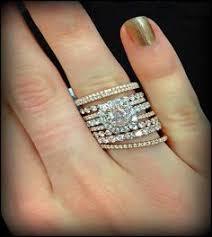 stackable wedding bands we all diamonds are a best friend so why not stack