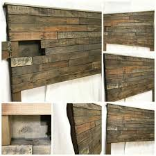 Headboard Ideas Wood by Headboards Best Bedroom Diy Wood Pallet Headboard 27 Diy Dark