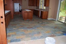 Slate Floor Kitchen by Fix Your Kitchen With Slate Kitchen Flooring Mybktouch Com