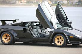 silver lamborghini 1988 lamborghini countach lp5000s for sale silver arrow cars ltd