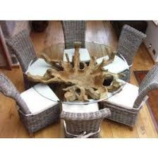 teak root dining table base really good saturday kitchen table deam home decors pinterest