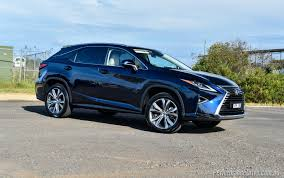 lexus dark blue 2016 lexus rx 450h f sport review video performancedrive