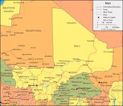 geographical map of guatemala mali map and satellite image