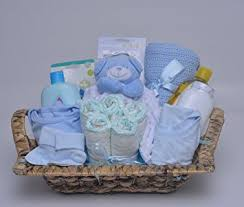 newborn gift baskets newborn gift basket boy blue co uk baby