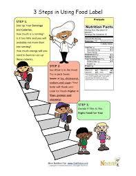 teaching food labels fun nutrition worksheets for kids fooducate