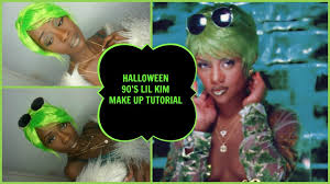 90 halloween costumes halloween 90 u0027s lil kim crush on you make up tutorial