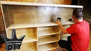 How To Build Bookshelves How To Build An Aquarium Stand Bookshelf The Office Tank Build