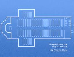 Catholic Church Floor Plans Saint Catherine Of Siena Roman Catholic Church