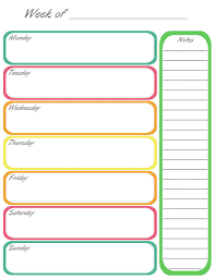 weekly calendar 2016 for word 12 free printable templates page