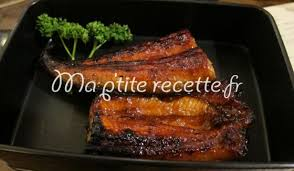 cuisiner une anguille anguilles grillées à la japonaise recette plat anguille