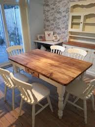 Country Kitchen Table by Shabby Chic Tables Made From Reclaimed Pine Or Oak Wax U2013 Country