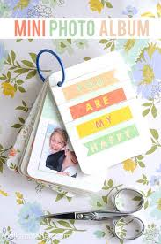 Brag Book Photo Album Adorable Diy Mini Scrapbook Album This Would Be An Awesome Brag