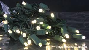 led string lights 50 wide angle bulbs twinkling