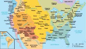 Indian Tribes North America Map by Natives By Kyle Bloop