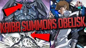 how did kaiba summon obelisk the tormentor yu gi oh the dark