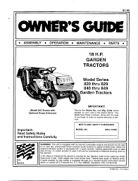 mtd lawn mower 840 thru 849 user guide manualsonline com