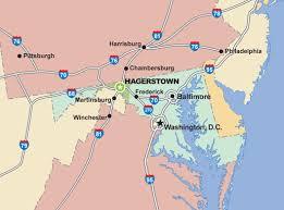 maryland mapa hagerstown maryland map toursmaps