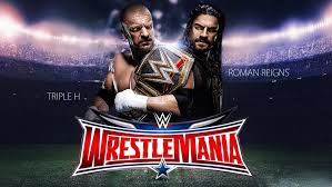 playstation 4 wrestlemania 32 review triple h vs roman reigns wrestlemania 32 wallpaper by menasamih on