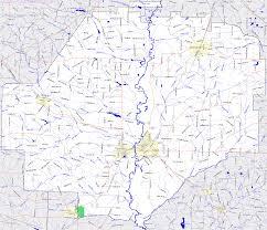 Georgia Road Map Bridgehunter Com Macon County Georgia