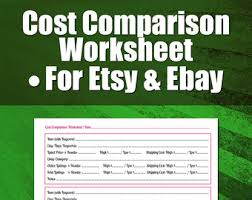 seo worksheet for etsy sellers search engine optimization