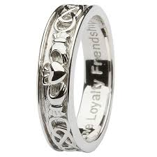 claddagh wedding rings rings gents sterling silver claddagh wedding ring crossroads