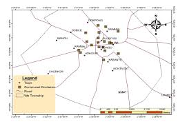 Map Of Ghana Solid Waste Management In Urban Areas Of Ghana Issues And