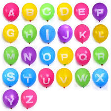 balloon letters retail colorful letter balloon alphabet large letters