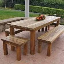 Wooden Patio Tables Wood Patio Table Plans Vulcan Sc