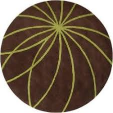 manhattan tweed green brown shag rug 2 u00273 x 7 u00279 free shipping