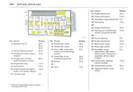 vauxhall corsa c fuse box diagram vivaro rear light wiring with