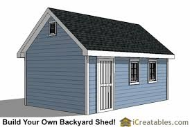 Backyard Storage Sheds Plans by 12x16 Traditional Victorian Backyard Shed Plans Icreatables Com