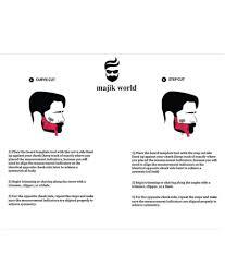 majik world beard toll full size fine tooth comb 1 pcs buy majik