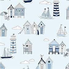 Nautical Curtain Fabric 10 Best Upholstery Material Images On Huts