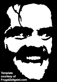 free pumpkin templates free jack nicholson the shining pumpkin