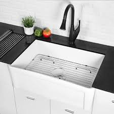 bowl kitchen sink for 30 inch cabinet 30 inch white porcelain single bowl kitchen sink overstock