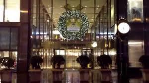 Trump Tower Inside Christmas Lights Trump Tower 5th Avenue New York City Youtube