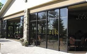 Solar Shades For Patio Doors by Sliding Patio Door Aluminum Double Glazed Solar Innovations