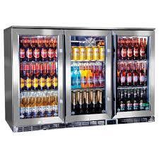 glass door bar fridge perth rhino u2013 gsp stainless steel triple door alfresco glass door bar