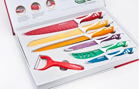 coloured kitchen knives other cutlery knives swiss royalty line 7 colour knife