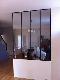 cloison vitree cuisine cuisine avec cloison industrielle vitrée castorama axioma leroy