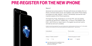t mobile offers free iphone 7 to anyone who trades in an iphone 6