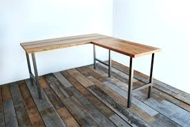Woodworking Plans Computer Desk by Desk Reclaimed Wood L Shaped Desk Wb Designs Free Woodworking