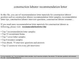 Material Handler Job Description For Resume by Construction Laborer Job Description Construction Laborer