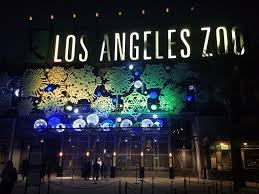 Zoo Lights Phx by La Zoo Lights 2016 Parks And Cons