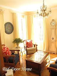 How To Make Drapery Panels Red Door Home How To Sew Curtain Panels With Lining And Or