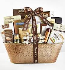 thank you gift basket thank you gift baskets food gift 1800baskets