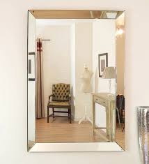 mirrors inspiring large frameless wall mirrors how to decorate a