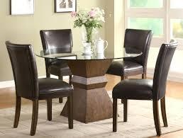interior glass top dining table emilygarrod com