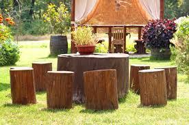 how to make a tree stump table diy tree stump table ideas how to make them morflora